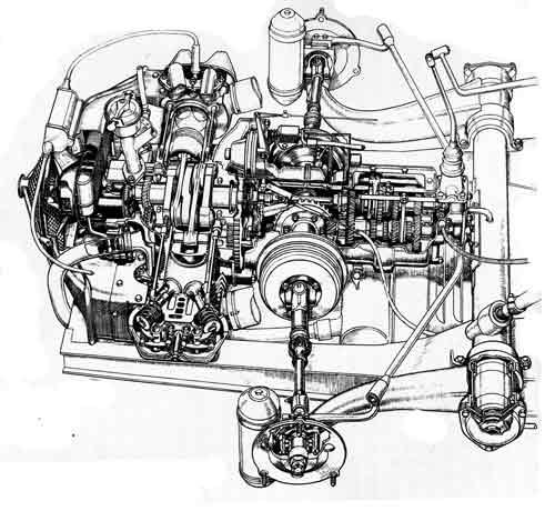 u6c34 u5e73 u5bfe u54112 u6c17 u7b52 - flat twin engine
